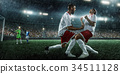 football, player, goal 34511128