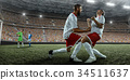 football, player, goal 34511637