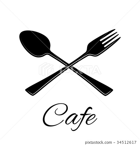 Spoon and fork icon. 34512617