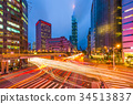 Taipei, Taiwan Cityscape 34513837