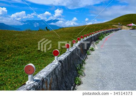 道路護欄,風景 34514373