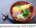 新年前夕的荞麦面 面条 日本食品 34514847