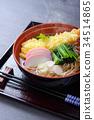新年前夕的荞麦面 面条 日本食品 34514865