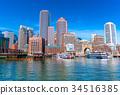 boston, skyline, cityscape 34516385