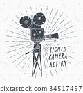 照相机 复古 标签 34517457