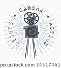照相机 复古 标签 34517461