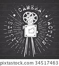 照相机 复古 标签 34517463