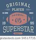 shirt vector football 34517735