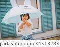 umbrella, brolly, child 34518283