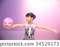 rhythmic gymnastics, new stretch, younger 34520173
