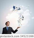 Modern phone business 34523166