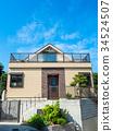 新建的独立式住宅 34524507
