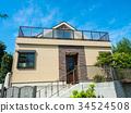新建的独立式住宅 34524508