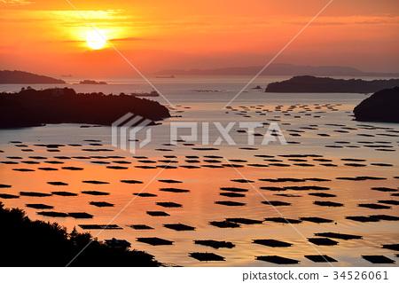 瀨戶內海 日出 朝陽 34526061