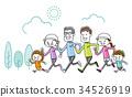 가족 : 운동, 달리기 34526919