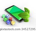 3d, green, screen 34527295