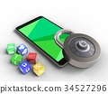 3d, mobile, phone 34527296