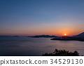 日落 夕阳 风景 34529130