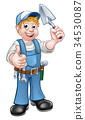 builder construction trowel 34530087