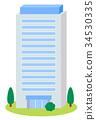 빌딩, 건물, 사무실 34530335