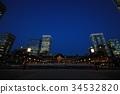 日落之后的东京站 34532820