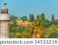 Beautiful landscape view of Florence. Italy. 34533216