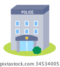 police station, building, buildings 34534005