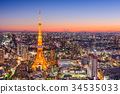 Tokyo, Japan Skyline 34535033