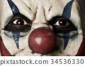 小丑 邪惡 嚇人的 34536330