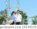 男人和女人夫婦遊樂園 34536530