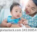 嬰兒 寶寶 寶貝 34536854