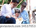 動物接觸家庭 34537053