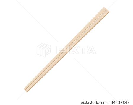 一次性筷子 34537848
