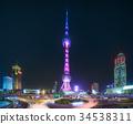 Shanghai skyline cityscape 34538311