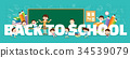back to school concept banner 34539079
