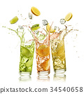 citrus fruits soft drink 34540658