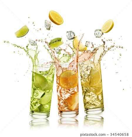 citrus fruits soft drink 34540658