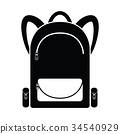 backpack icon 34540929