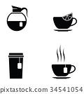 tea icon set 34541054