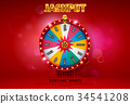 wheel fortune spin 34541208