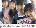 초등학교 교실 미소 34541281