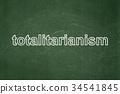 board, chalk, election 34541845