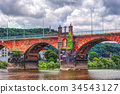 The Roman bridge in Trier 34543127
