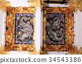 Nikko Toshogu Yomeimon Ryu的天花板圖片 34543386