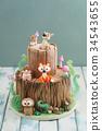 cake animals food 34543655