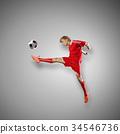 Football player 34546736