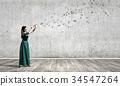 woman, female, flute 34547264