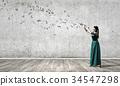 woman, female, flute 34547298