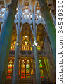sagrada familia, spain, spanish 34549316