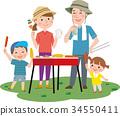 矢量 家庭 家族 34550411